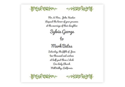 Online wedding invitations for the modern couple sendo vintage flowers wedding cake stopboris Image collections