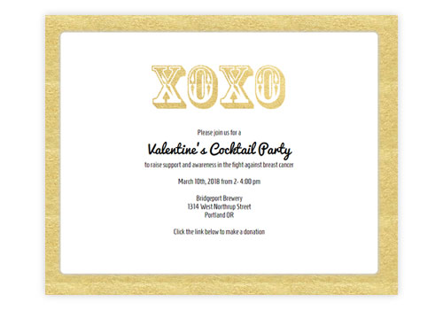 Valentine's Invitations