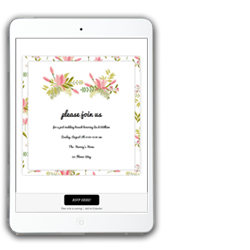 online invitations with rsvp and ticketing